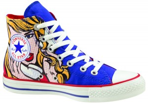 I love this pop-art hi-top!