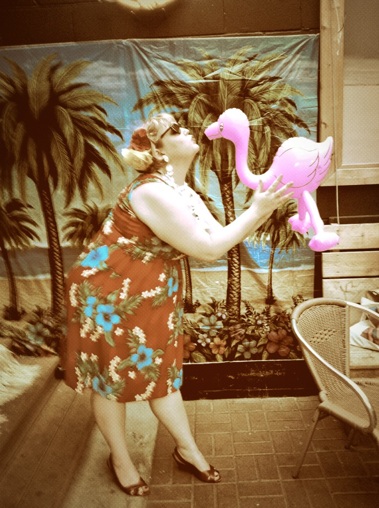 No party is complete without pink flamingos!